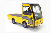 Flat Bed Vehicle with Cab