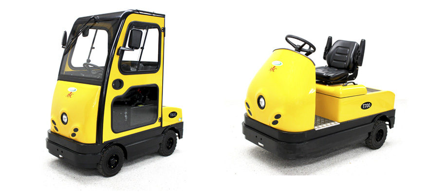 Tow Tractor Event Vehicles